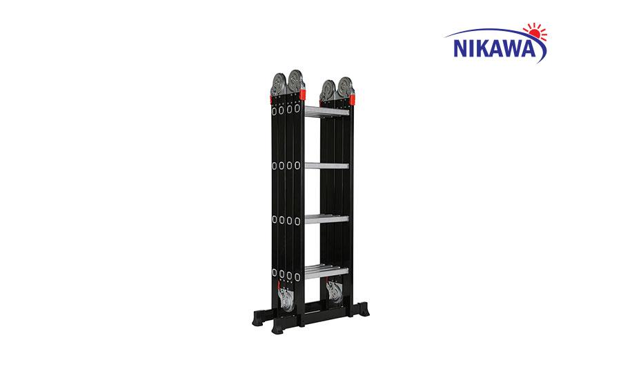 Thang nhôm gấp 4 đoạn NIKAWA NKG-44