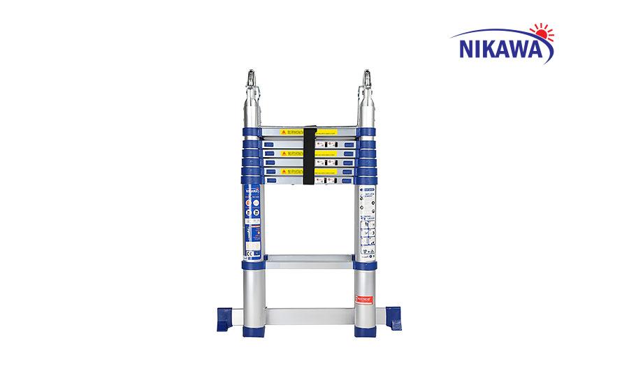 Thang nhôm rút chữ A NIKAWA NK-44AI
