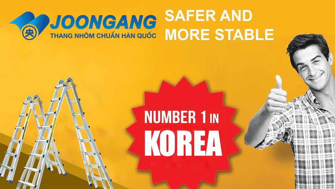 Nhìn lại 10 năm phát triển của thang nhôm Joongang Hàn quốc tại Việt nam