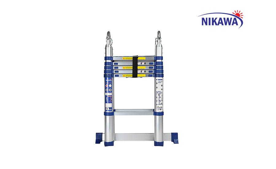 Thang nhôm rút chữ A NIKAWA NK-38AI