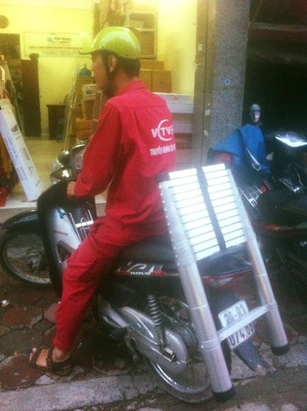 Thang nhôm rút Pro  chính hãng - Lựa chọn an toàn cho cả gia đình